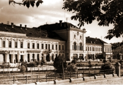 Old pictures of Transylvania building