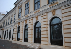 Transylvania building rehabilitated